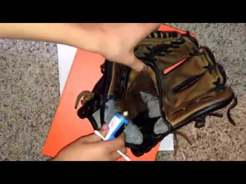 How to: put adhesive in the inside of your glove!