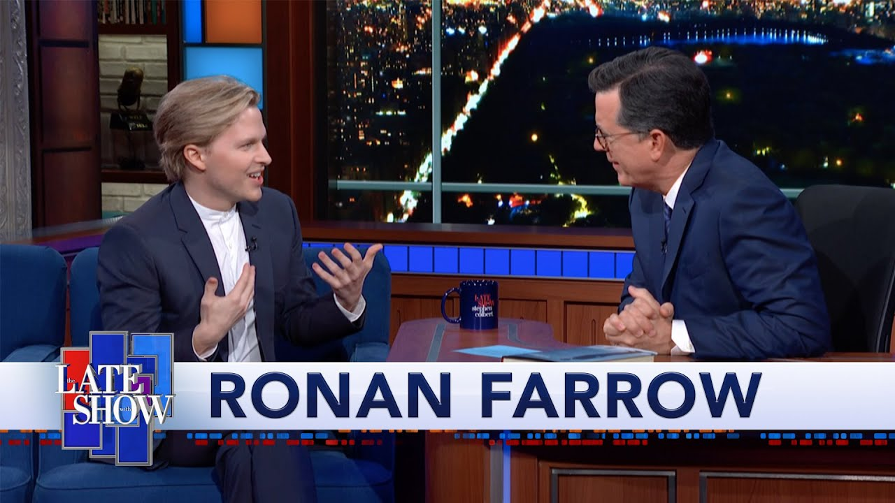 Ronan Farrow: The Free Press Is Alive And Well