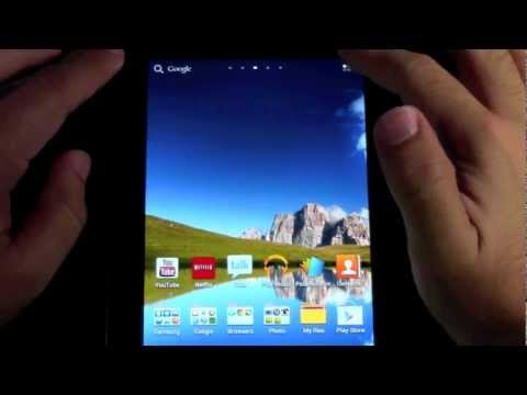 How to Delete an App on the Samsung Galaxy Tab 2 (7.0)