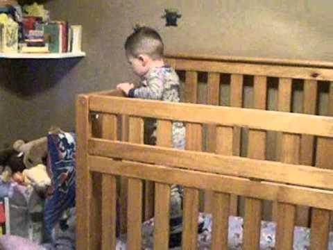 Toddler Escapes From Alcatraz (his crib)
