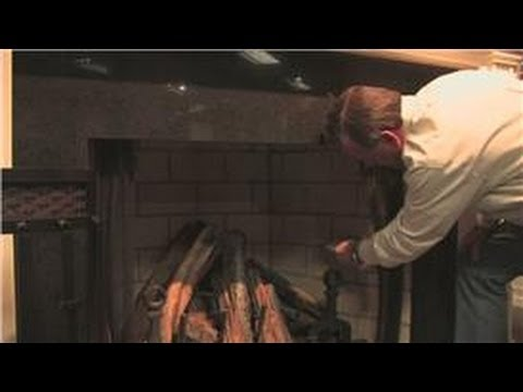 Fireplace Maintenance : Cleaning Soot Off of Fireplace Bricks