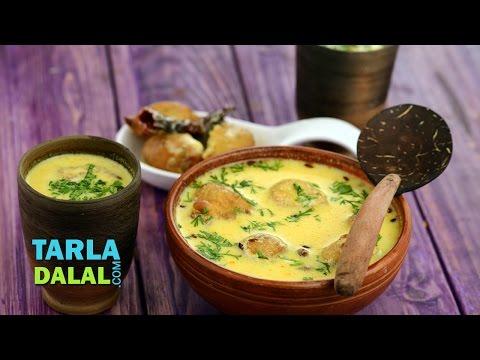 Punjabi Pakoda Kadhi by Tarla Dalal