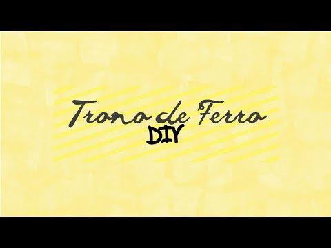 DIY | TRONO DE FERRO (Game of Thrones)