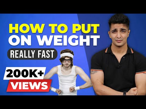How to put on weight fast - FOR THIN MEN AND WOMEN - BeerBiceps FITNESS