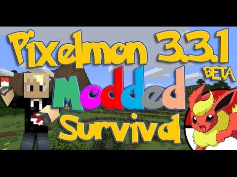 Pixelmon 3.3.1 BETA Modded Survival! (FACECAM) S3:E26 | MESA BIOME HUNTING!