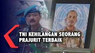 Panglima TNI Lepas Jenazah Anumerta Rama, Prajurit TNI yang Gugur di Kongo