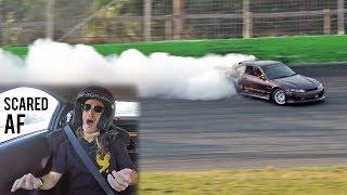 Bert's First Time Drifting - 900HP S15 Shreds the Bank!
