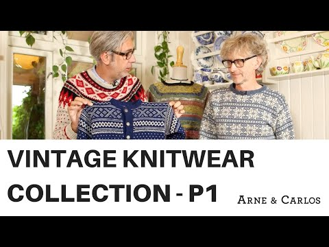 A tour of ARNE & CARLOS vintage knitwear collection. Part 1