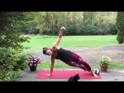 Yoga For A Broken Leg/Foot: 20 Minute Quick Routine To Get Your Heart Rate Up