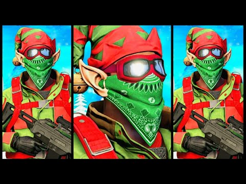 GTA 5 ONLINE MODDED CHRISTMAS OUTFIT TRYHARD/RNG (BAD ELF)