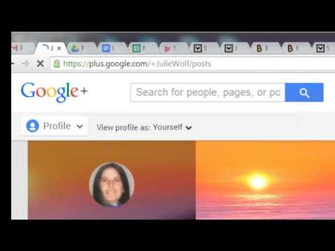 How To Find Your Google Plus Url by Julie Wolf