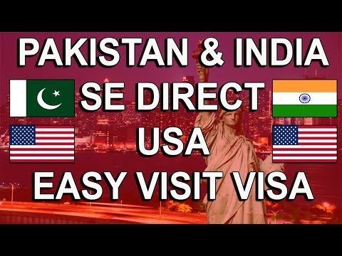 USA Visa Visit / Tourist From India & Pakistan Easily B1/B2