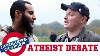Mohammed Hijab vs Rob   Atheism vs Islam   Speakers Corner