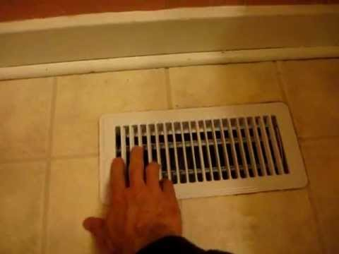 How to Install a New Floor Register Damper