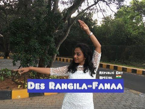 Des Rangila - Fanaa | Republic Day Special | Choregraphy by Anitha S Gowda