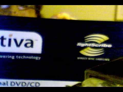 Ativia External DVD+CD RW Drive Uboxing and Quick Setup