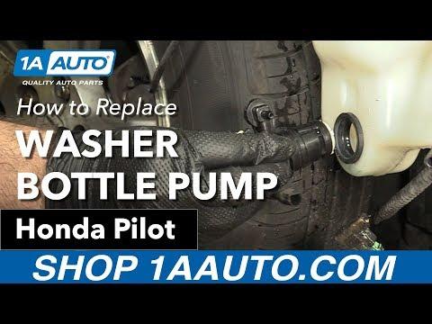 How to Replace Washer Pump 2007 Honda Pilot