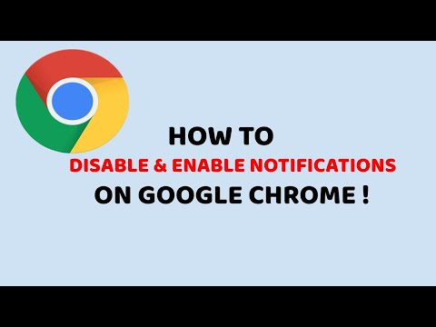 How to Disable and Enable Notifications on Google Chrome | Easy Chrome Tutorials In Hindi