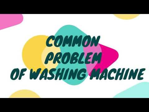VIBRATION CONTROL IN WASHING MACHINE (NON-BMCG - GROUP D)