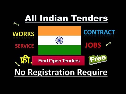Indian Government Tenders || PSU Company || All Works & Contracts