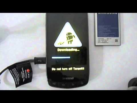 Rooting Samsung Droid Charge on Verizon (Even Newer Vid on my Channel) by:KDtech.org