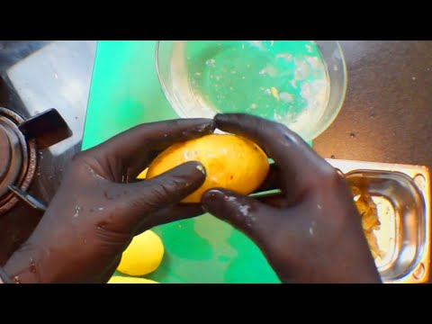 How to Peel a Potato with Your Hands in Seconds!