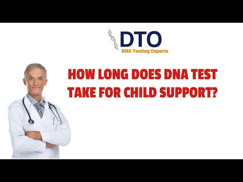 How long does a DNA Test take for Child Support?