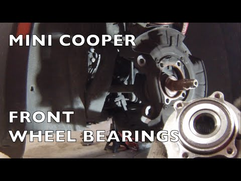 MINI Cooper Replace Front Wheel Hub Bearings (or Rear)