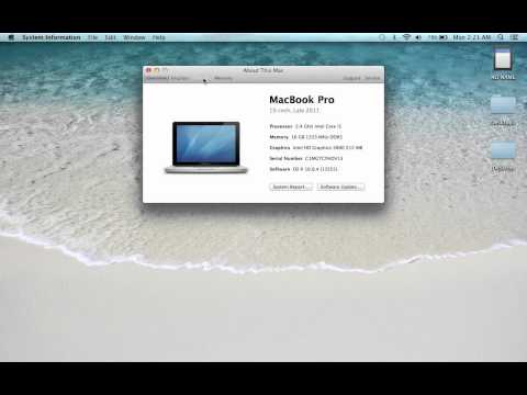How to Check How Much Hard Drive Space You Have on a MacBook Pro