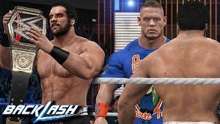 WWE 2K17 Backlash 2017 - Jinder Mahal Wins WWE Championship & John Cena Returns!