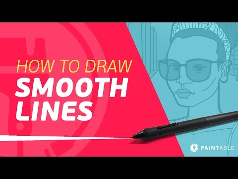 How to Draw PERFECT, Smooth Lines on Your Tablet (3 Life-Saving Tips)