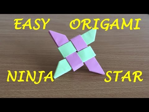 How to Make an Easy Ninja Star