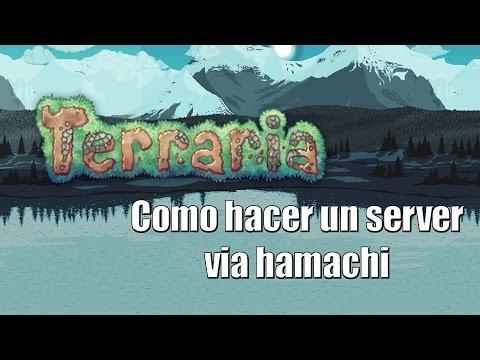 Metodo 1   Como hacer un server en Terraria via Hamachi
