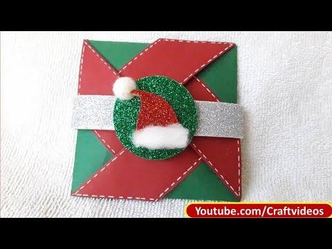 EASY CHRISTMAS CARD MAKING |  CHRISTMAS CARD | GREETING CARD