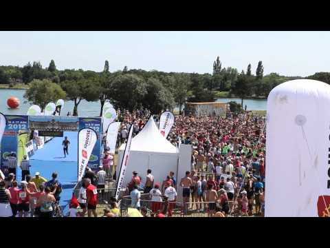 Video Officielle Flashmob Zumba Record de France  16 17 Juin 2012 Balada Boa tche tche re re