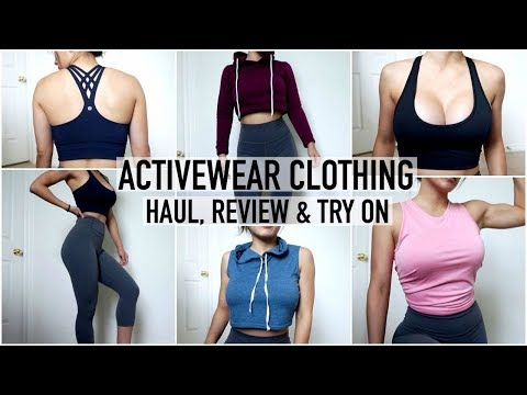 NEW ACTIVEWEAR HAUL, REVIEW & TRY ON | Lululemon, Nike, Diadora