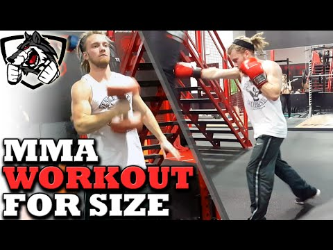 MMA Fighter's Workout for Gaining Size & Moving up in Weight