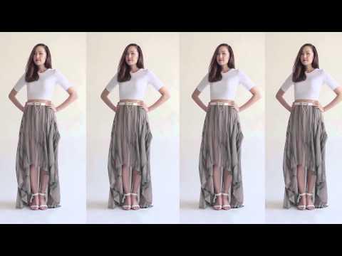 5 Ways To Transform Your Maxi Skirt