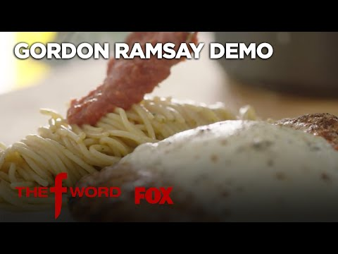 Gordon Ramsay's Chicken Parmesan Recipe: Extended Version | Season 1 Ep. 3 | THE F WORD