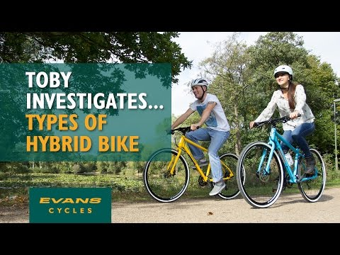 Different Types of Hybrid Bike... Toby Investigates