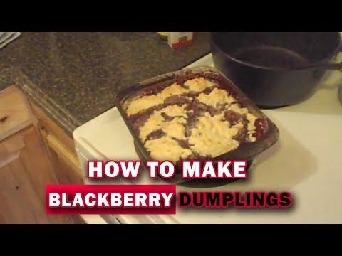 Recipe Blackberry Dumplings