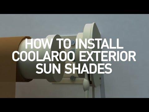 Coolaroo Exterior Shades Installation