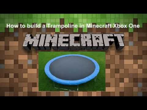 How to build A Trampoline in Minecraft Xbox One (Tutorial)