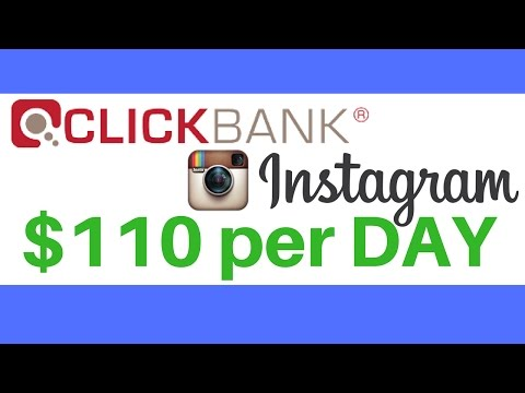 How to Promote Clickbank Products for Free with Instagram