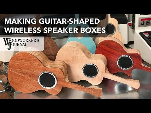 How to Make a Guitar-Shaped WIreless Speaker Box | JET Sponsored Project