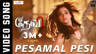 Pesamal Pesi Parthen | Official Video Song | Prabhudeva, Tamannaah, Amy Jackson | Vishal Mishra