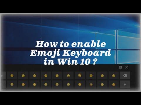 How to Enable Emoji Keyboard in Windows 10