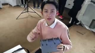 New 2017 router Xiaomi Mi R3P Pro view backstage presentation