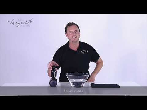 How to Clean the Filter of the Tan.Handy Spray Tan System