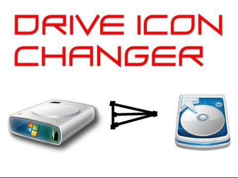 change partition drive icon: windows 8 2014